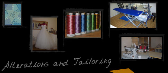 A header of alteration and tailoring company
